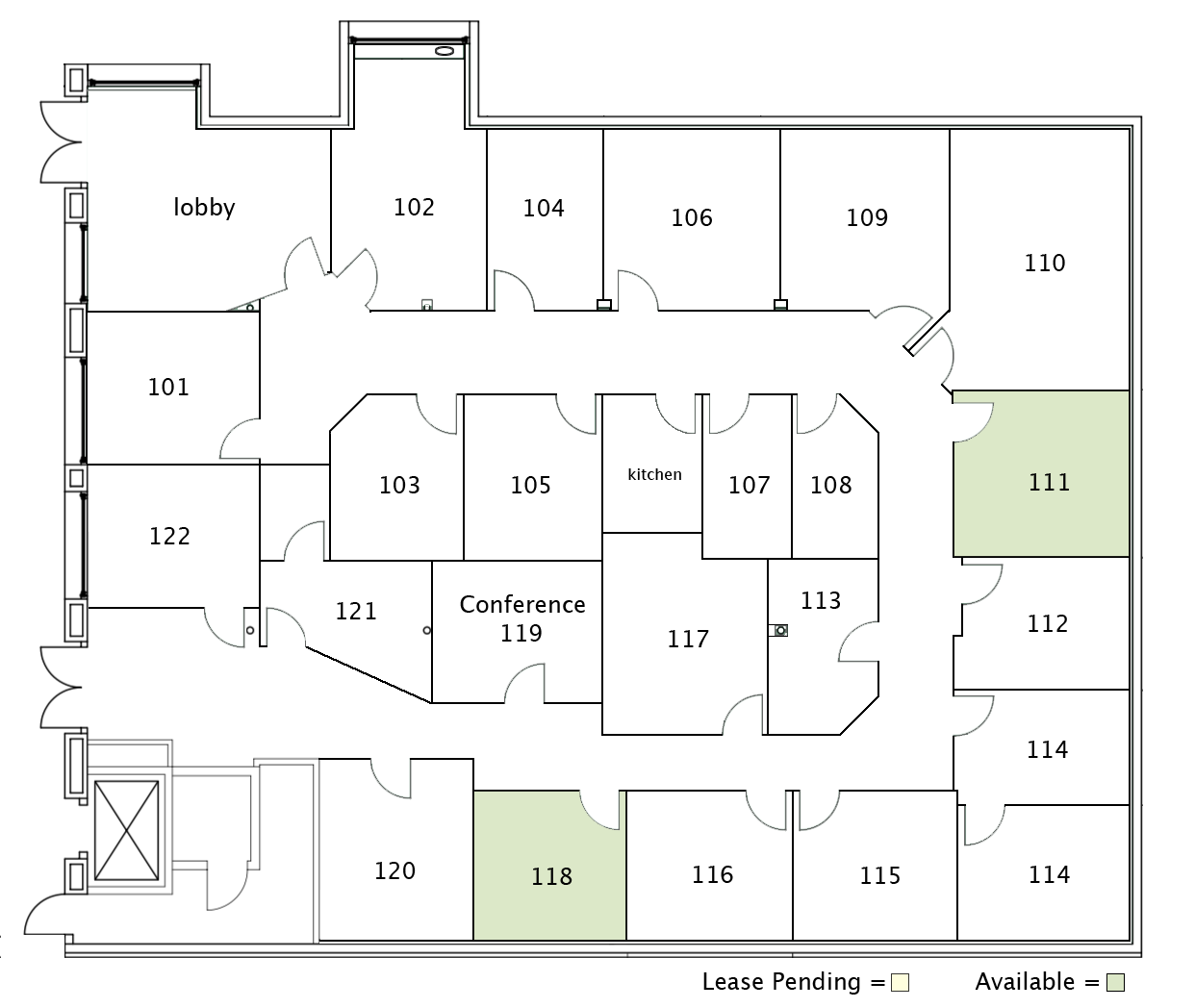 San Juan Capistrano location Floorplan
