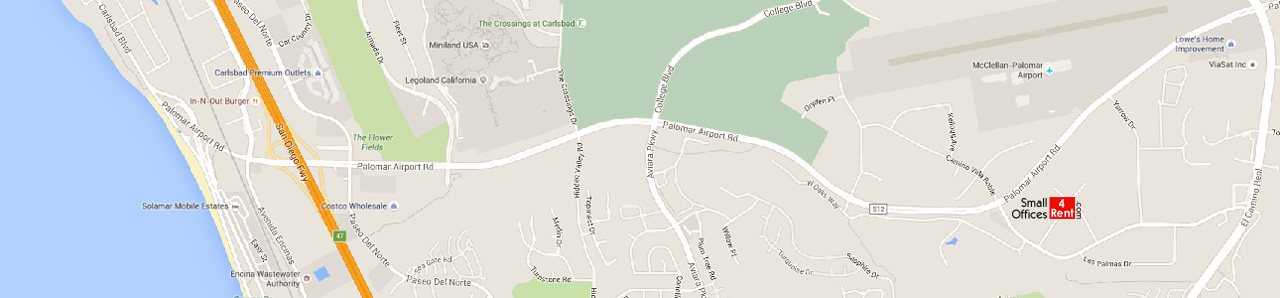 Carlsbad CA Small Offices For Rent Or Lease Sizes Rents - Carlsbad ca map
